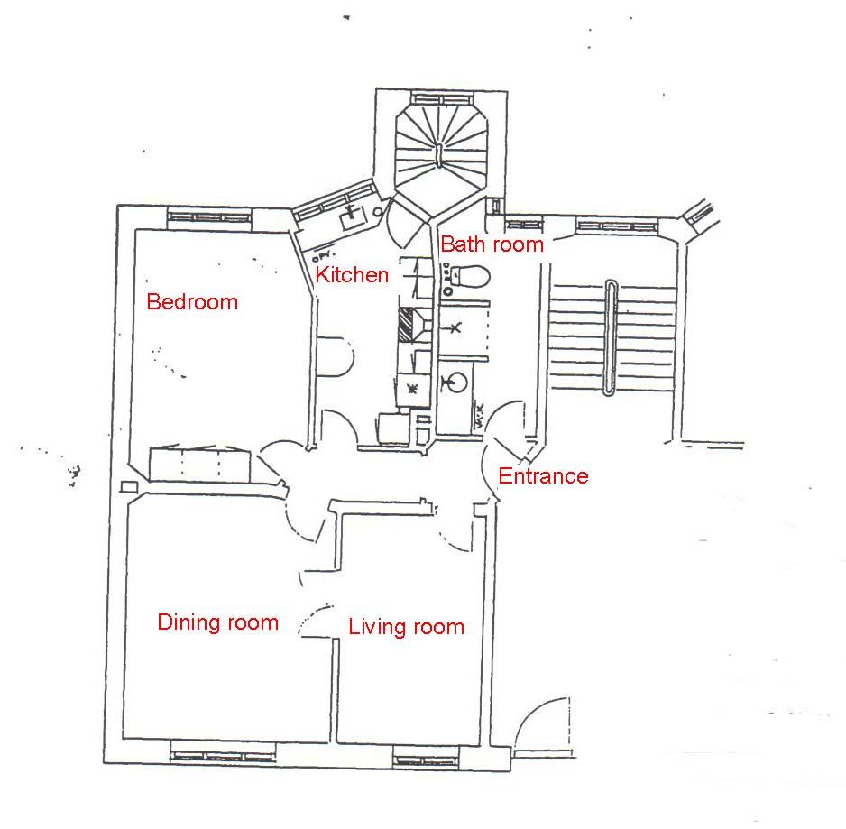 dr priemesvej 4 4th floor right cbs boligfond. Black Bedroom Furniture Sets. Home Design Ideas